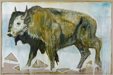 Billy Childish, Bison, 2012, China Art Objects Galleries