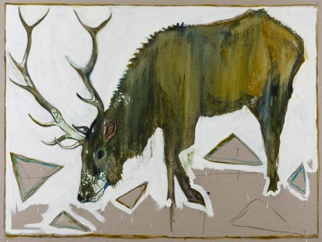 Billy Childish, Elk, 2012, China Art Objects Galleries
