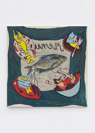 Ella Kruglyanskaya, Fish on Menu, 2012, Office Baroque