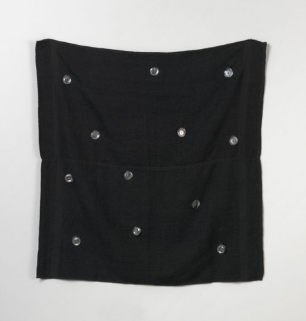 Paul Lee, Untitled, (two towels with tambourine bells), 2010, Office Baroque