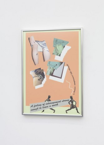 Camilla Wills, A bruise: compressed like thought, 2013, Office Baroque