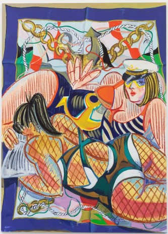 Ella Kruglyanskaya, Nautical Bathers, 2012, Office Baroque