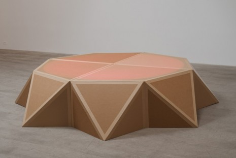 Amalia Pica, Stage (as seen on Afghan Star), 2011, Marc Foxx (closed)