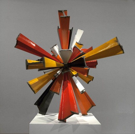 James Angus, I-beam Sunburst, 2012, Roslyn Oxley9 Gallery
