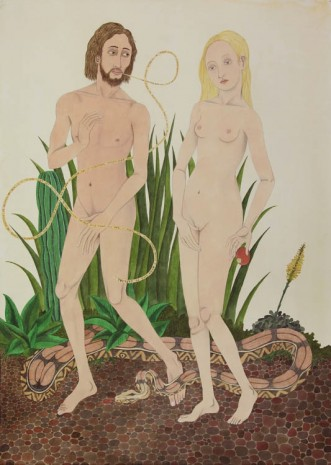 Ed Templeton, Expulsion from Eden (After Vrancke van der Stockt), 2012, Tim Van Laere Gallery