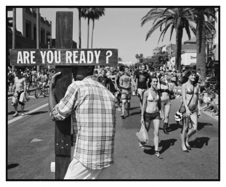 Ed Templeton, Are You Ready?, Huntington Beach, 2012, Tim Van Laere Gallery