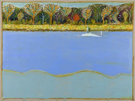 Billy Childish, luminous estuary, 2012, Lehmann Maupin