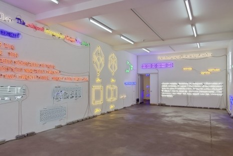 Joseph Kosuth Sprüth Magers Ulysses, 18 Titles and Hours