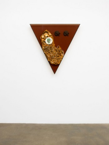Steven Claydon, Saturated Triangle (double sea-lion), 2013, David Kordansky Gallery