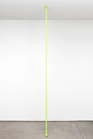 Chadwick Rantanen, Telescopic Pole [WalkerGlides / Flourescent Yellow / 01], 2012, STANDARD (OSLO)