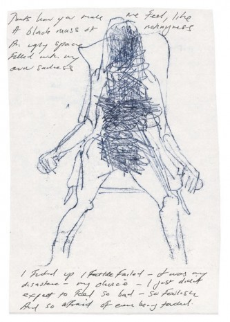Tracey Emin, Thats how you make me Feel, 2012, Lehmann Maupin