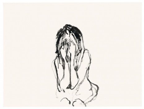 Tracey Emin, She kept crying, 2012, Lehmann Maupin