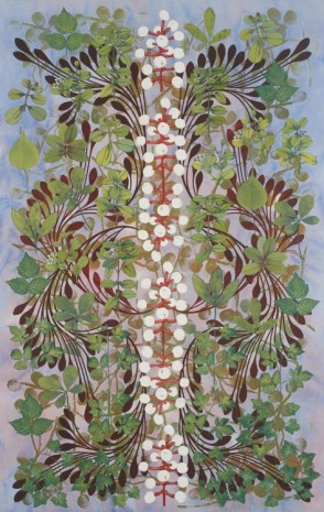 Philip Taaffe, Imaginary Garden with Seed Clusters, 2013, Luhring Augustine