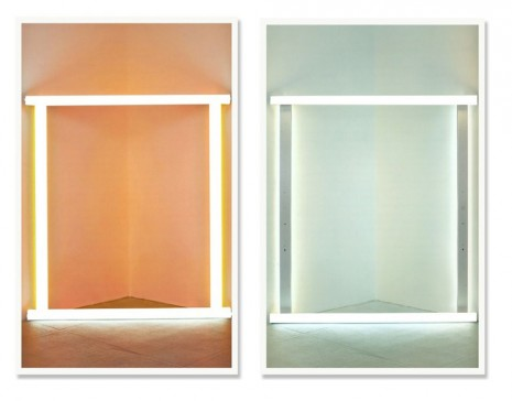 Jose Dávila, Untitled (Flavin pair), 2012, Max Wigram Gallery (closed)