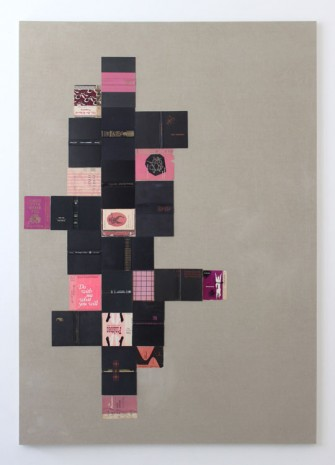 Valeska Soares, The Obscene Bird of Night (from Bindings), 2013, Max Wigram Gallery (closed)