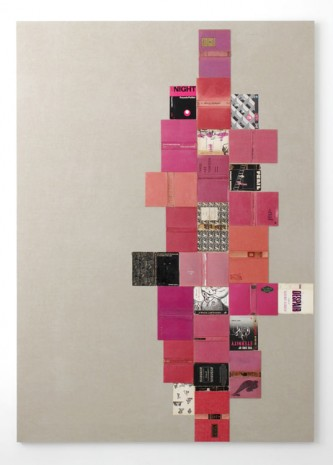 Valeska Soares, The Rose Tattoo (from Bindings), 2013, Max Wigram Gallery (closed)