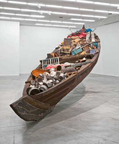 Subodh Gupta Hauser & Wirth What does the vessel contain, that the river does not