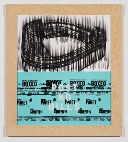 Gary Simmons, Stadium Boxeo, 2013, Regen Projects