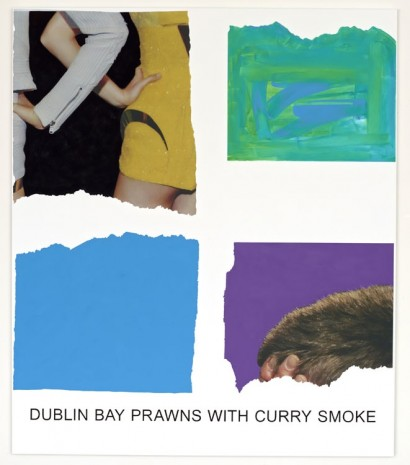 John Baldessari, Morsels And Snippets: Dublin Bay Prawns With Curry Smoke, 2013, Mai 36 Galerie