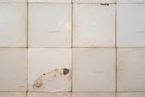 Nell, More Sound Hours Than Can Ever Be Repaid - The White Album, #1 (detail), 1968/2013, Roslyn Oxley9 Gallery
