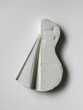 Ricky Swallow, Split Guitar with Drapery 1 (vertical), 2013, Modern Art