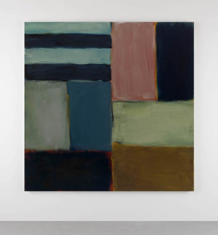 Sean Scully, Cut Ground Blue Pink, 2011, Kerlin Gallery