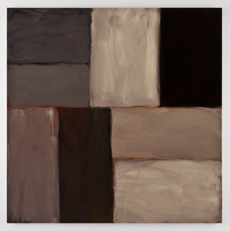 Sean Scully, Wall of Light Grey White, 2011, Kerlin Gallery