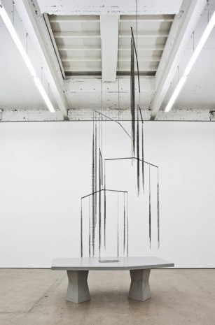 Martin Boyce, All Over / Again / And Again, 2013, The Modern Institute