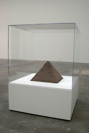 Matt Johnson, Pyramid of Dust, 2011, Blum & Poe