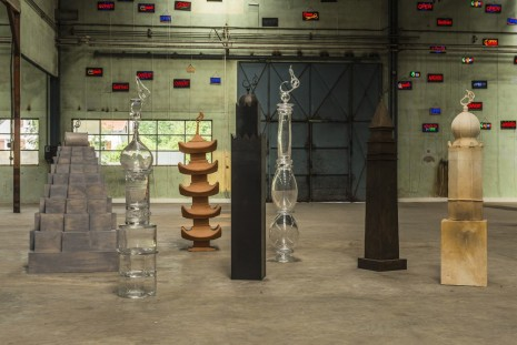 Moataz Nasr, The towers of love, 2011, Galleria Continua