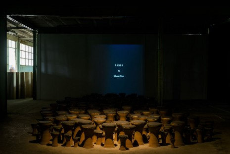Moataz Nasr, The tabla, 2003, Galleria Continua