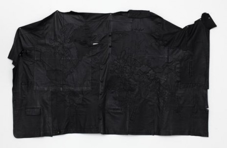 Jonathan Monk, The World in Black Leather, 2011, Galleri Nicolai Wallner