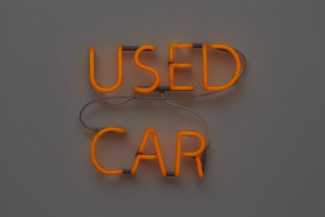Jonathan Monk, Used Car (Volvo 850 2.3 Auto T5 1995, DKK 39.000), 2011, Galleri Nicolai Wallner