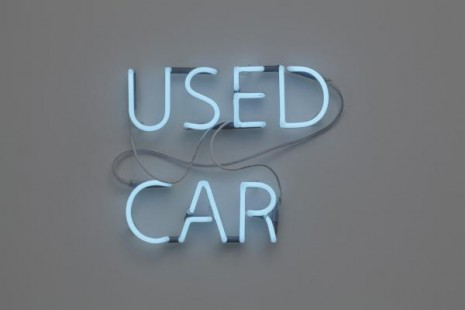 Jonathan Monk, Used Car (BMW 3 Series i 1.8 1998, DKK 70.000), 2011, Galleri Nicolai Wallner