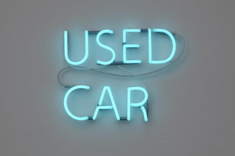 Jonathan Monk, Used Car (Fiat 500 L 1967, DKK 69.000), 2011, Galleri Nicolai Wallner