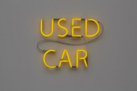 Jonathan Monk, Used Car (Jaguar XJ6 4.2 Series II 1974, DKK 75.000), 2011, Galleri Nicolai Wallner