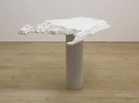 Maya Lin, Disappearing Bodies of Water: Arctic Ice, 2013, Lehmann Maupin