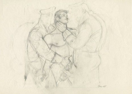 Tom of Finland, Untitled, 1985, Modern Art