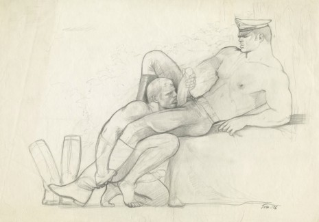 Tom of Finland, Untitled, 1976, Modern Art