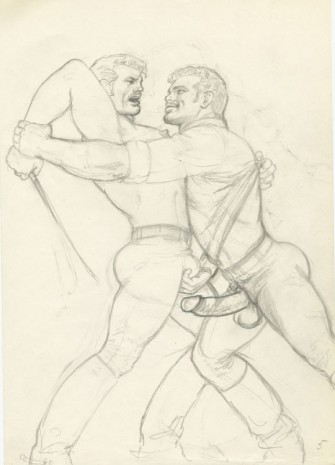 Tom of Finland, Untitled, c. 1978, Modern Art