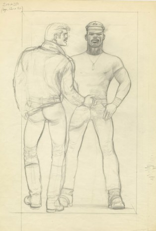 Tom of Finland, Untitled, 1977, Modern Art