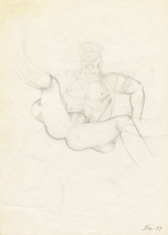 Tom of Finland, Untitled, 1987, Modern Art