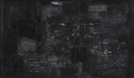 Jack Whitten, SAMO Was Here ( A Dedication to the Memory of J.M.Basquiat, 1988), 1988, Zeno X Gallery