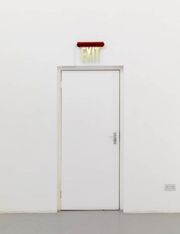 Gretchen Faust, Exit (after GB), 2013, greengrassi
