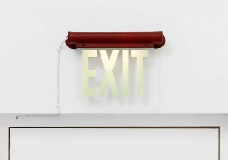 Gretchen Faust, Exit (after GB), 2013 (detail), greengrassi