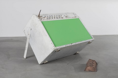 Joris Van de Moortel, Everything's gone green, 2013, Galerie Nathalie Obadia