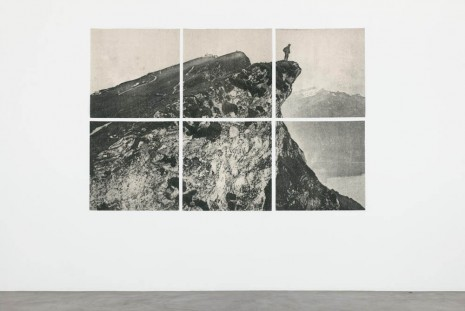 Adam Helms, Untitled Landscape (Wanderer In A Sea of Fog), 2013, Almine Rech