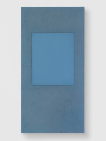 Sam Falls, Untitled (639 Santa Clara Avenue, 90291, Taped Window, Window/Wall), 2013, Galerie Eva Presenhuber