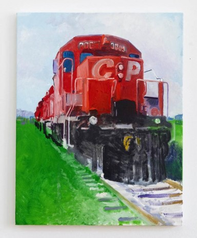 Nolan Simon, CP Train or A Caustic Place for Cautious Patronage, 2013, Sies + Höke Galerie