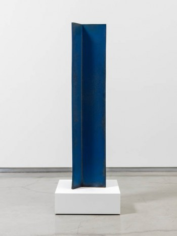 John Mason, Vertical Intersection, Blue, 1997, David Kordansky Gallery
